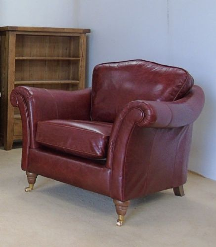 Broadway Rustic leather Armchair